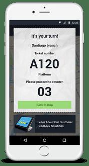Wavetec's mobile queuing app