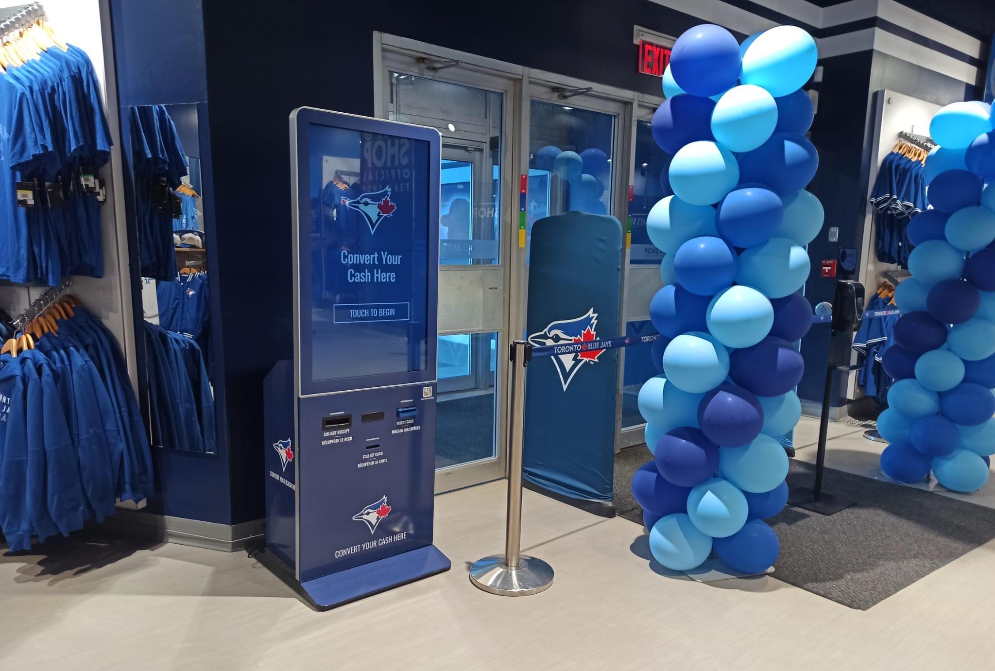 Azimut | XTM Reverse ATM at Rogers Centre Toronto