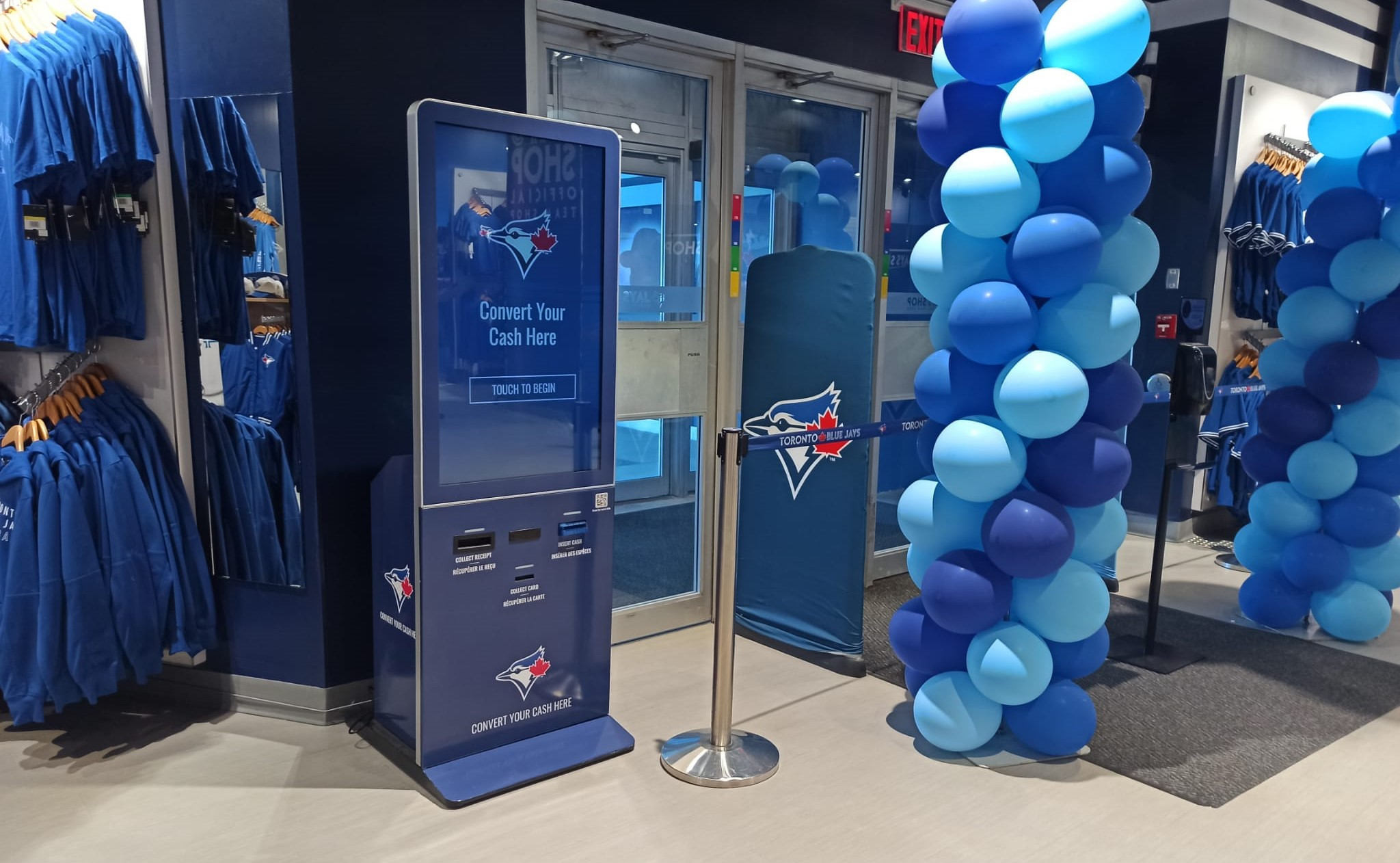 XTM Reverse ATM at Rogers Centre Toronto by Azimut