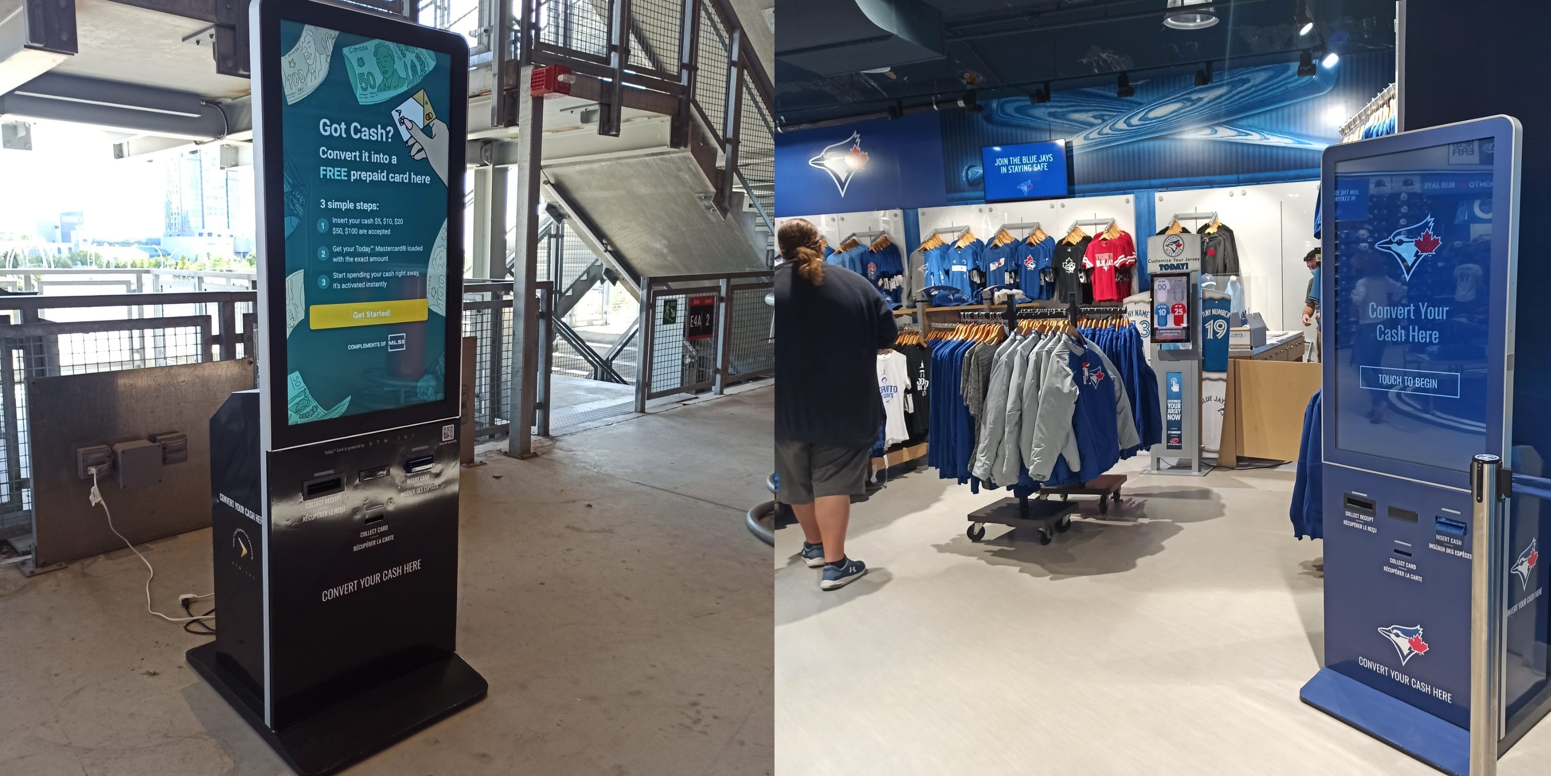 azimut reverse atms at rogers centre